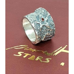 """Estrella """"Gacrux"""" anillo de..."""