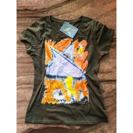Camiseta hombre KAKI