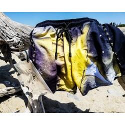 Bañador hombre lila-amarillo