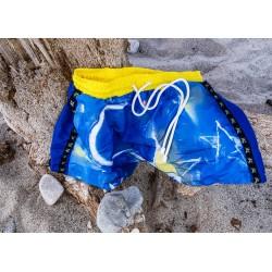 Bañador hombre azul
